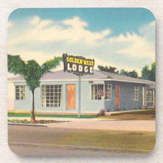 Hotel del vintage, motel del oeste de oro de la posavaso
