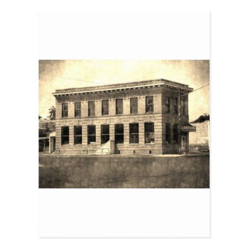 Hotel del vintage tarjeta postal