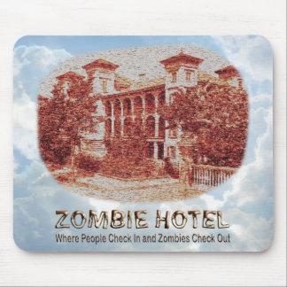 Hotel del zombi - básico alfombrilla de ratón