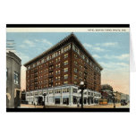 Hotel Deming, Terre Haute, Indiana 1933 Greeting Card