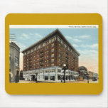 Hotel Deming, Terre Haute, Indiana 1933 Mousepads