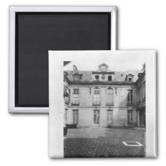 Hotel du Grand Veneur in Paris 60 rue de 2 Inch Square Magnet