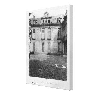 Hotel du Grand Veneur in Paris 60 rue de Canvas Print