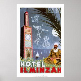 Hotel El Minzah Poster