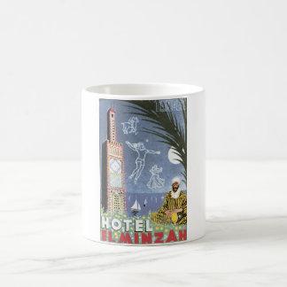 Hotel El Minzah Vintage Travel Poster Coffee Mug