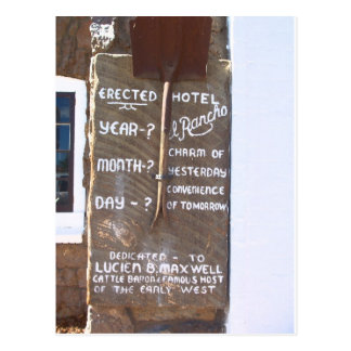 Hotel El Rancho Postcard