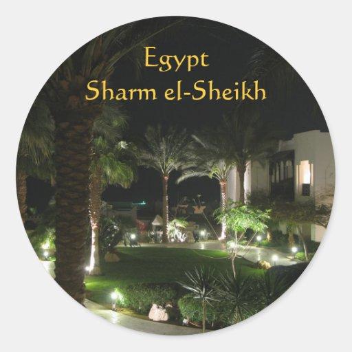 Hotel en Sharm el-Sheikh Etiqueta Redonda