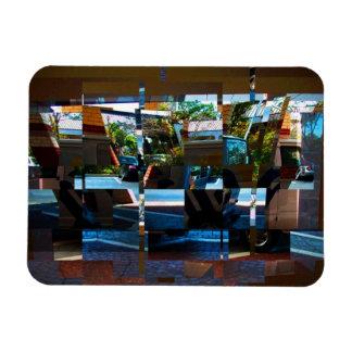 Hotel Entrance Digital Art Magnet