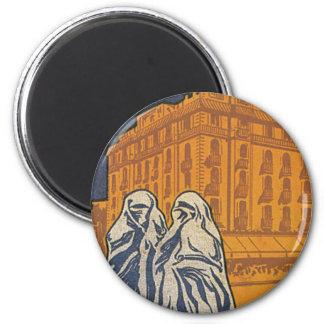Hotel Excelsior Casablanca 2 Inch Round Magnet