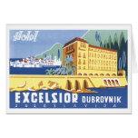 Hotel Excelsior Dubrovnik Greeting Card
