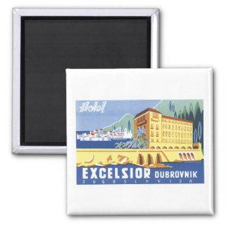 Hotel Excelsior Dubrovnik 2 Inch Square Magnet