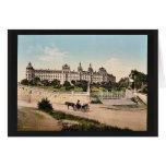 Hotel Excelsior, Regina Palace, Cimiez, Nice, Fran Greeting Cards