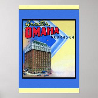 Hotel Fontenelle de Omaha Nebraska Posters