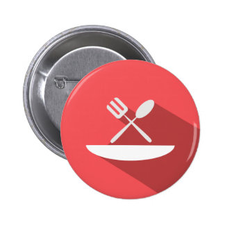 Hotel Food Dining Icon Button