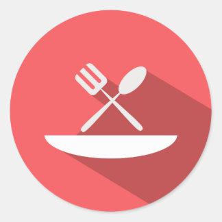 Hotel Food Dining Icon Sticker
