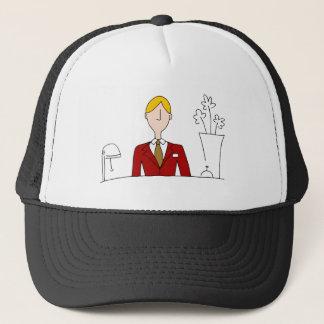 Hotel Front Desk Manager Trucker Hat