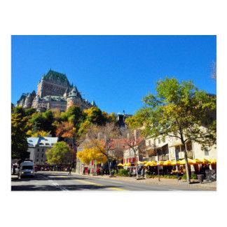 Hotel Frontenac High Above Quebec City Postcard