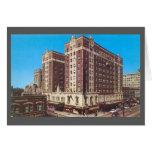 Hotel Gary, Indiana (los años 50) del vintage Tarjetas