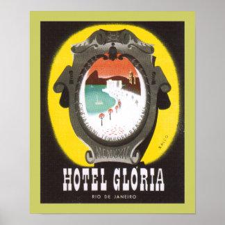 Hotel Gloria Rio de Janeiro (canvas) Poster