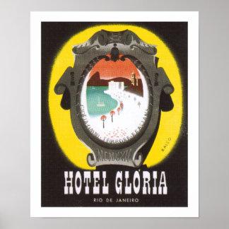 Hotel Gloria Rio de Janeiro (white) Poster