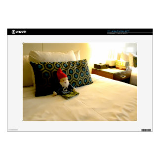 """Hotel Gnome 15"""" Laptop Decal"""