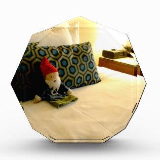 Hotel Gnome Acrylic Award