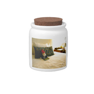 Hotel Gnome Candy Jars