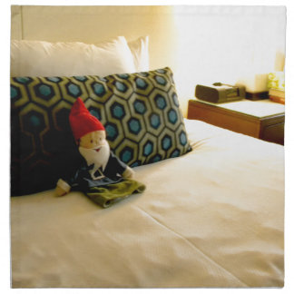 Hotel Gnome Napkin