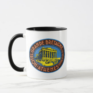 Hotel Grande Bretagne - Greece Mug