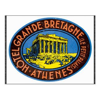 Hotel Grande Bretagne Le Petit Palais Athenes Vi Post Card