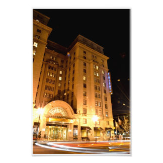 Hotel in downtown DC Photographic Print
