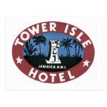 Hotel Jamaica BWI de la isla de la torre Postal