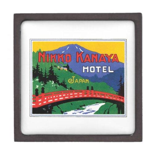 Hotel Japón de Nikko Kanaya Cajas De Joyas De Calidad