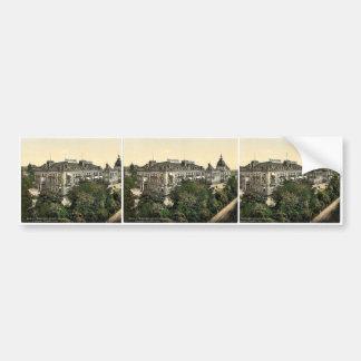 Hotel Kaiserhof and Augusta Victoria Baths, Wiesba Bumper Stickers