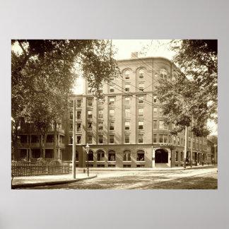 Hotel Lafayette de Portland, Maine circa 1904 Posters