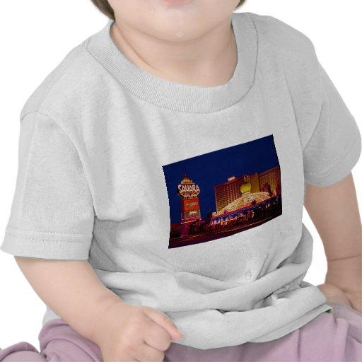 Hotel Las Vegas de Sáhara del vintage Camiseta