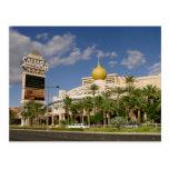 Hotel Las Vegas de Sáhara del vintage Postal