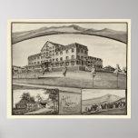 Hotel Lookoff, colina del azúcar, NH Póster