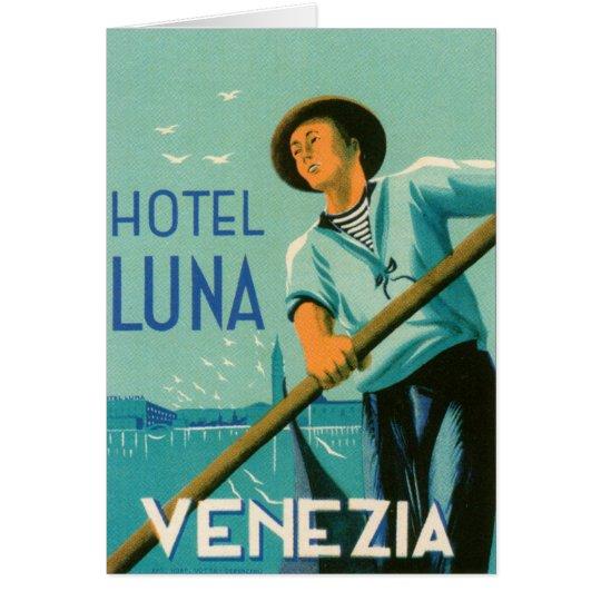 Hotel Luna Venezia Card