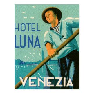 Hotel Luna Venezia Tarjeta Postal