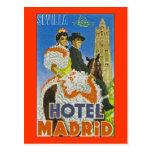Hotel Madrid Postal