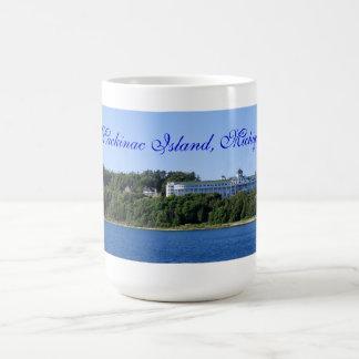 Hotel magnífico, isla de Mackinac, Michigan Taza De Café