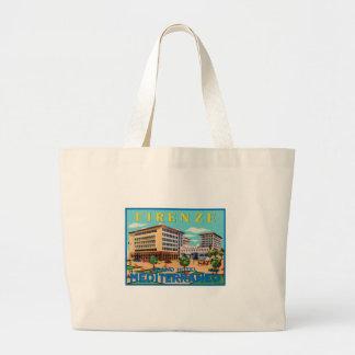 Hotel magnífico Mediterraneo de Firenze Bolsa Lienzo