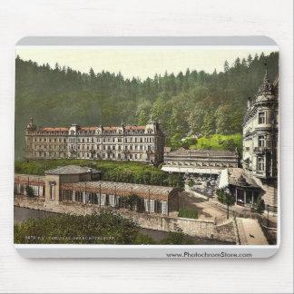 Hotel magnífico Pupp, Carlsbad, Bohemia, Austro-Hu Alfombrillas De Raton