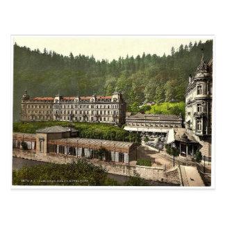 Hotel magnífico Pupp, Carlsbad, Bohemia, Austro-Hu Tarjeta Postal