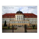Hotel magnífico, Sopot Polonia, foto… Postal