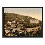Hotel magnífico, vintage Photochrom de Grasse, Fra Postales