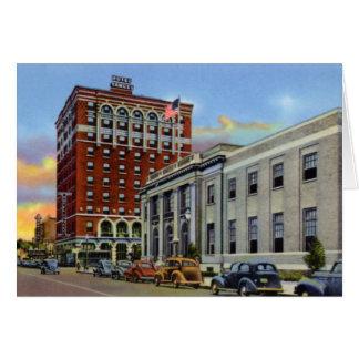Hotel magnífico Yancy de Nebraska de la isla Tarjetas