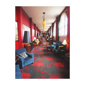 Hotel majestuoso hidráulico impresión en lona estirada