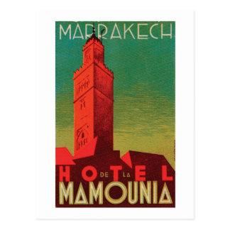 Hotel Mamounia Marrakesh Postal